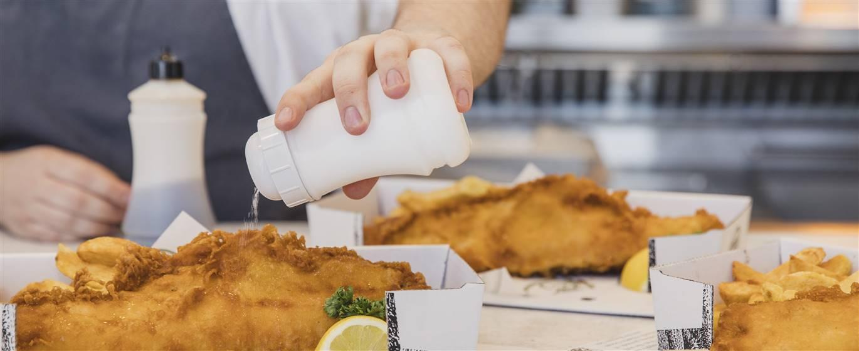 London Lights + Fish & Chips