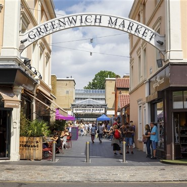 Greenwhich Market & River Cruise